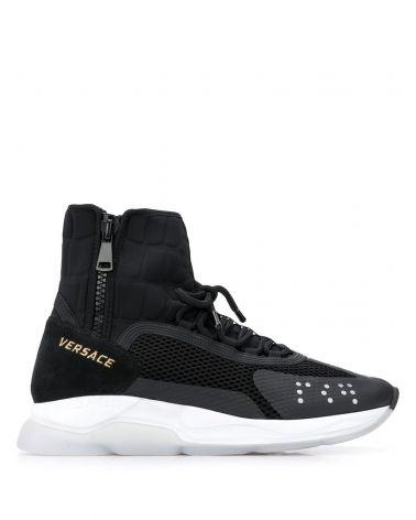 Sneakers alta tessuto neoprene