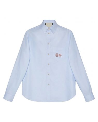 Camicia ml oxford c/web