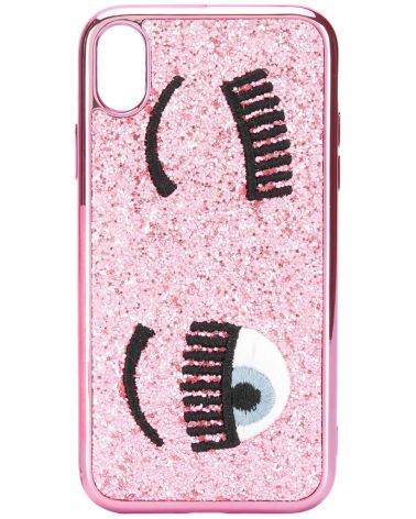 Cover Iphone X/XS flirting glitter liquid