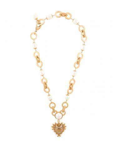 Collana Cuore perle