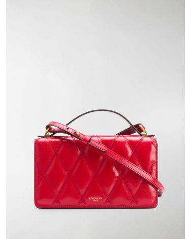 MINI BAG IN DIAMOND QUILTED LEATHER