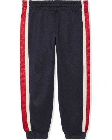 Pantalone c/dettagli nylon