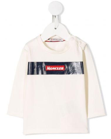 T-Shirt ml giro stretch c/patch