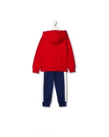 Completo tuta felpa cappuccio + pantalone