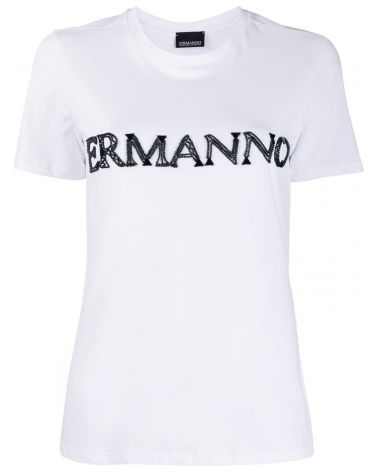 T-Shirt mm ricamo logo