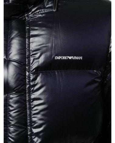 Piumino tessuto tecnico c/cappuccio