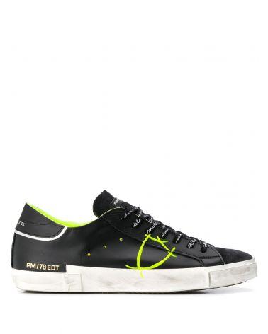 Sneaker Temple vitello verniciato