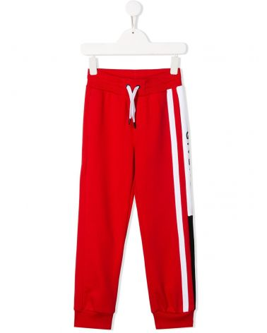 Pantalone felpa elastico logo