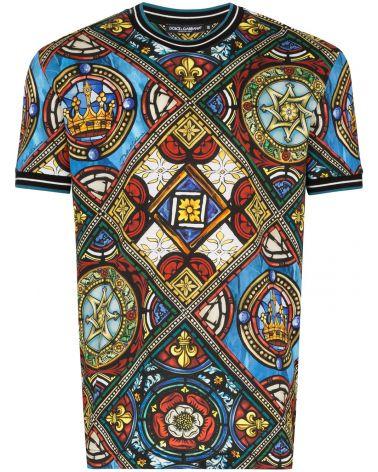 T-Shirt mm giro st.vetrate