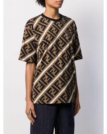 T-Shirt diagonal all over FF