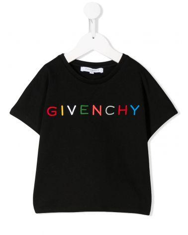 T-Shirt mm giro double face logo multicolor