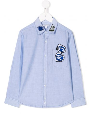 Camicia ml chambry c/ricami