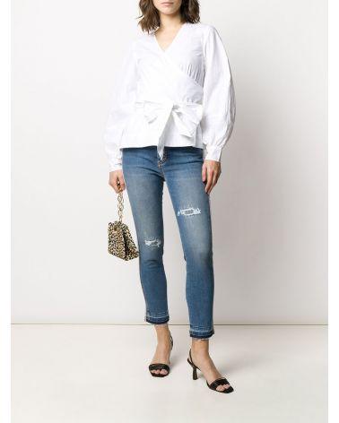 Jeans 5 tasche bande