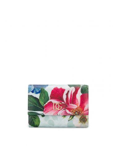 Portafoglio Franch dauphine fiori ombre