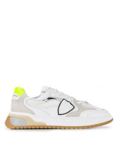 Sneaker Saint Denis vitello neon