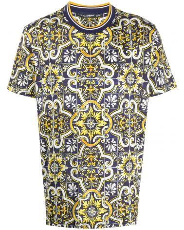 T-Shirt mm giro st.Maioliche