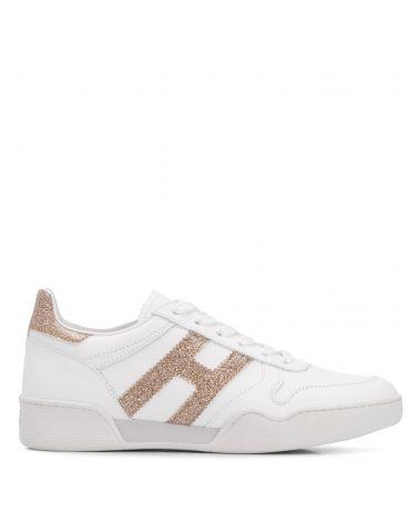 Sneaker H357 retro volley allacciato