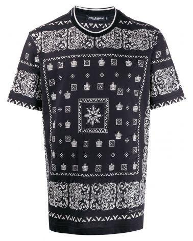 T-Shirt mm giro st.Bandana corone