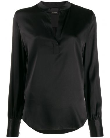Blusa ml raso seta stretch Petrali