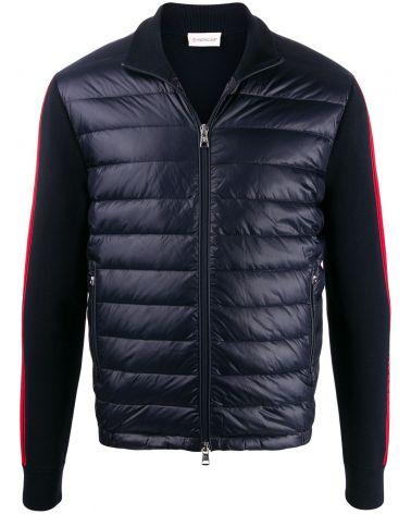 Cardigan tricot full zip