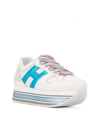 Sneaker H516 H grande tessuto
