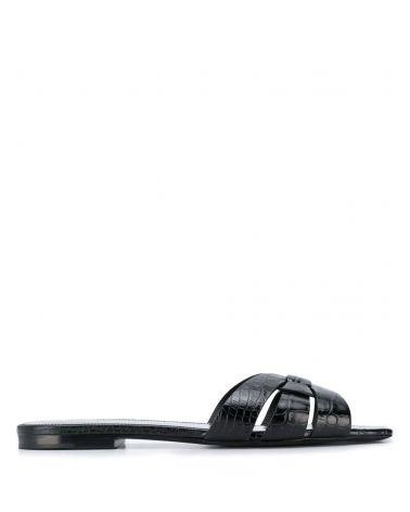 Sandalo stampa coccodrillo