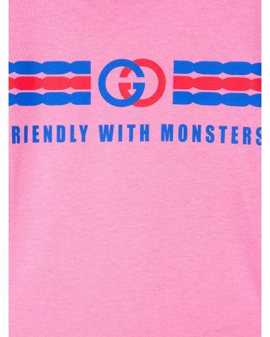 T-Shirt mm giro logo print