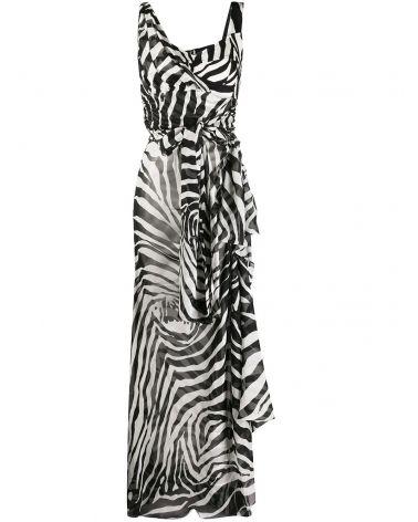 Abito st.Zebra nera
