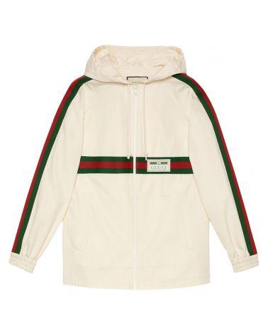Giacca cotone etichetta Gucci