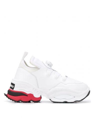 Sneaker vitello + neoprene
