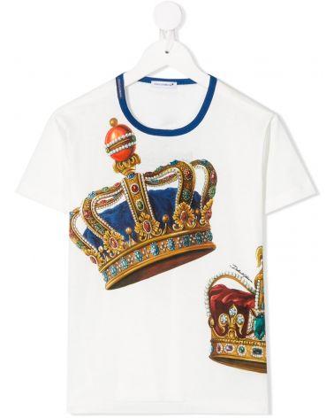 T-Shirt mm giro st.Corona grande