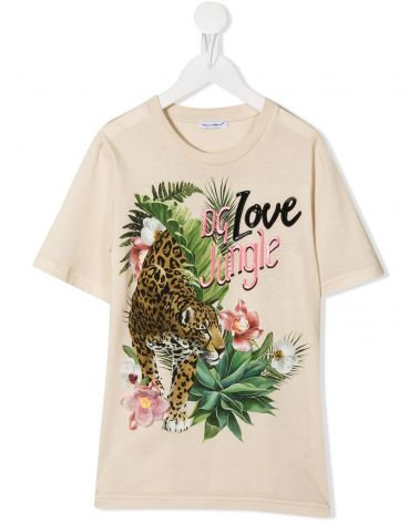 T-Shirt mm giro st.Leopardo