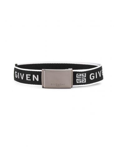 Cintura motivo jacquard Givenchy fibbia metallo