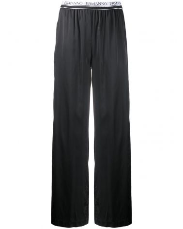Pantalone elastico logo