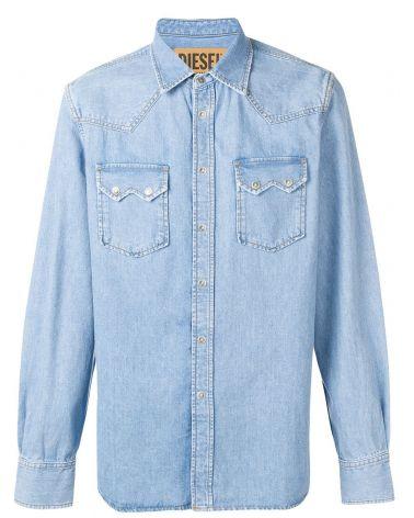 Camicia ml western in denim