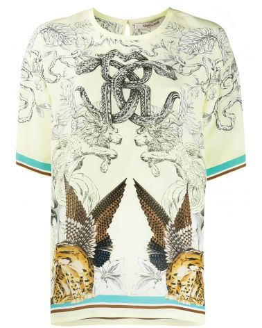 T-Shirt mm giro Hybrids Animals Foulard