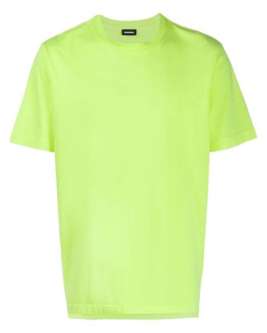 T-shirt mm fluo logo ricamato T-Just-Slit