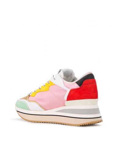 Sneaker Triomphe satin pop