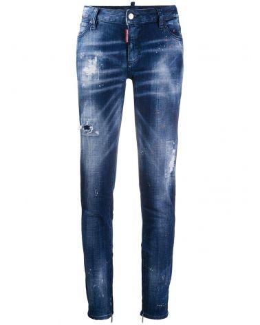 Jeans Skinny vita media
