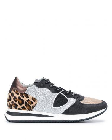 Sneaker Trpx leo glitter