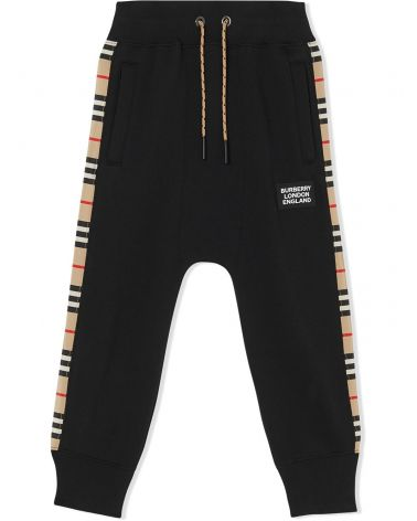 Pantalone felpa c/check