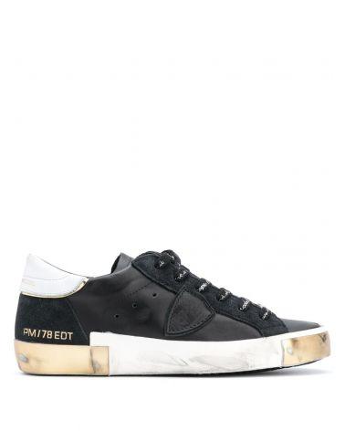 Sneaker Prsx metal bande