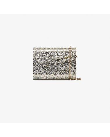 Pochette acrilico glitterato