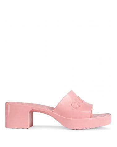 Sandalo slider in gomma