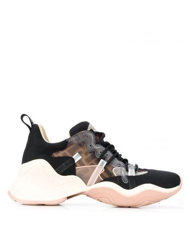 Sneaker rete FF + mix rete ric.