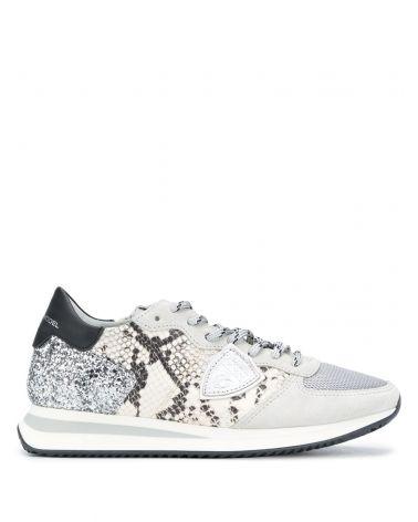 Sneaker TRPX python glitter
