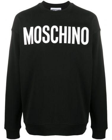 Felpa ml giro st.logo Moschino