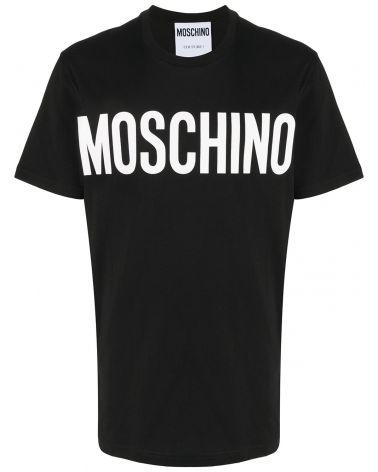 T-Shirt mm giro st. logo Moschino