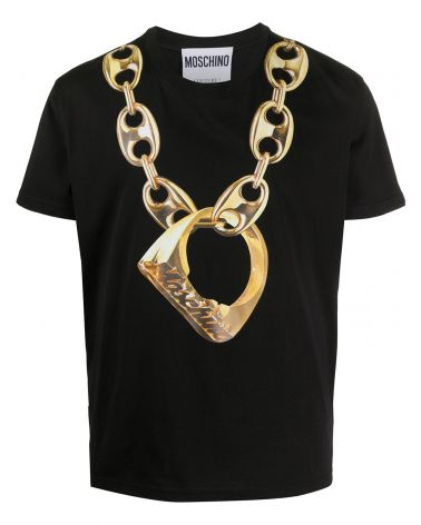 T-Shirt mm giro st. collanna + anello