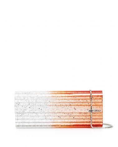 Pochette in acrilico glitter grosso